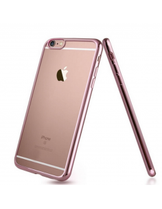 Frame silicon rose gold case