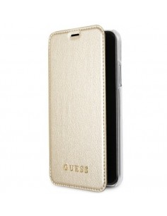 GUESS compact gold case