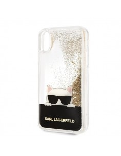 Karl Lagerfeld gold liquid...