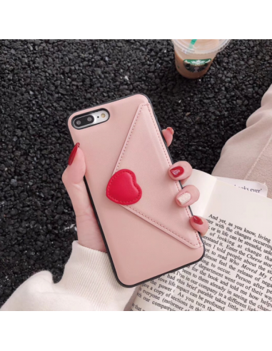 Heart in the pocket baby pink case