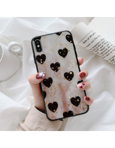 Retro hearts case