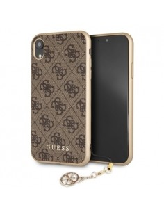 Guess brown charms case