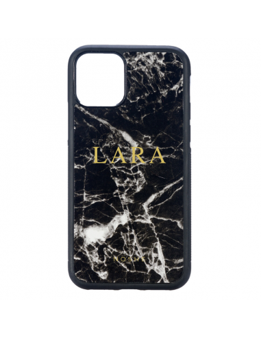 MONOGRAM MARBLE BLACK CASE