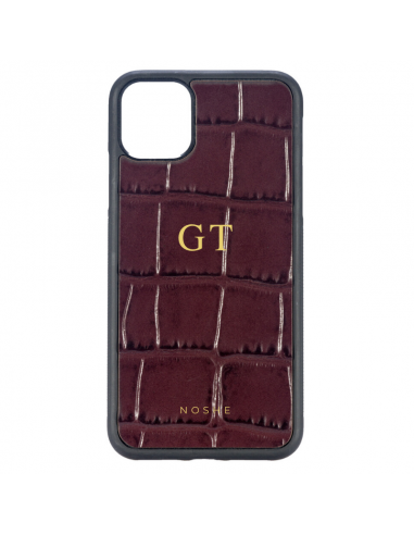 MONOGRAM BURGUNDY CASE