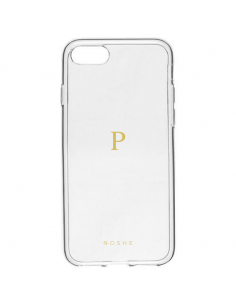 Monogram transparent case