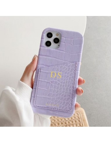 CROCO PURPLE POCKET CASE