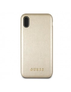 GUESS business gold case